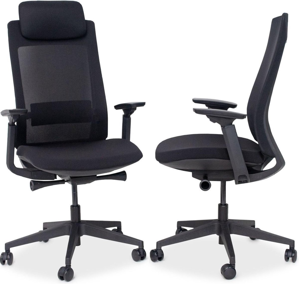 MRC PRO High Design | Ergonomische bureaustoel | Harde wielen
