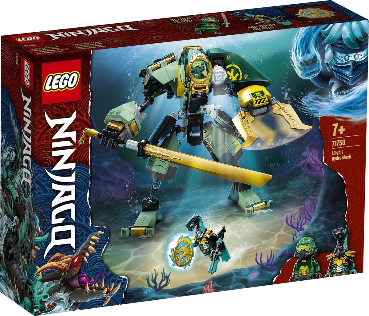 LEGO NINJAGO Lloyd's Hydro Mech - 71750