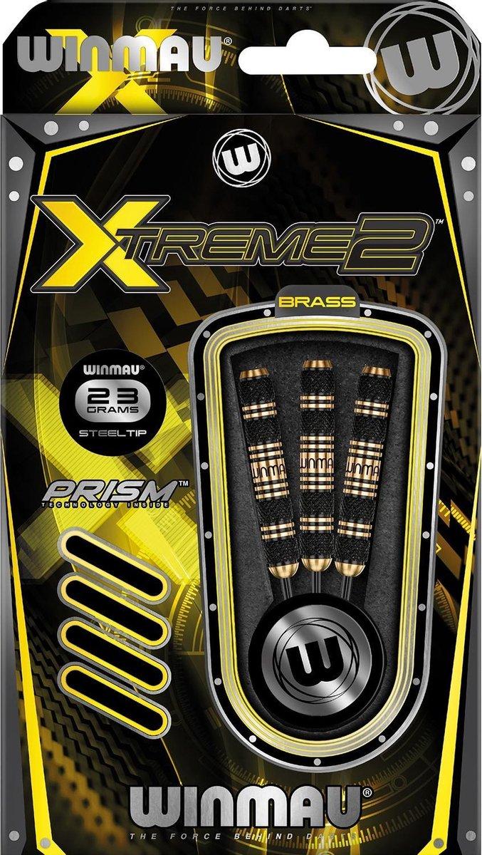 Winmau Xtreme2 - 2 Brass - 23 Gram