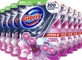 Glorix Power 5+ Wc Blok - Pink Magnolia - 7 stuks - Voordeelverpakking