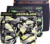 Jack & Jones Charles Onderbroek - Jongens - zwart - navy - geel
