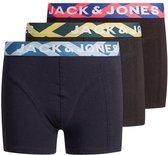 Jack & Jones George Onderbroek - Jongens - zwart - geel - navy