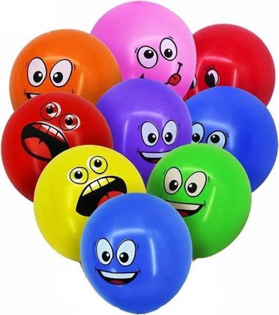 Ballonnen pakket - Kinderfeestje - Verjaardagsfeest - Verjaardagfeest - Kinderfeestje pakket - Smiley ballonnen pakket - Emoticons ballon