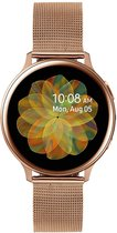 Samsung Galaxy Watch Active2 - Staal - Milanese Band - Smartwatch dames - 40mm - Special Edition - Rosegoud