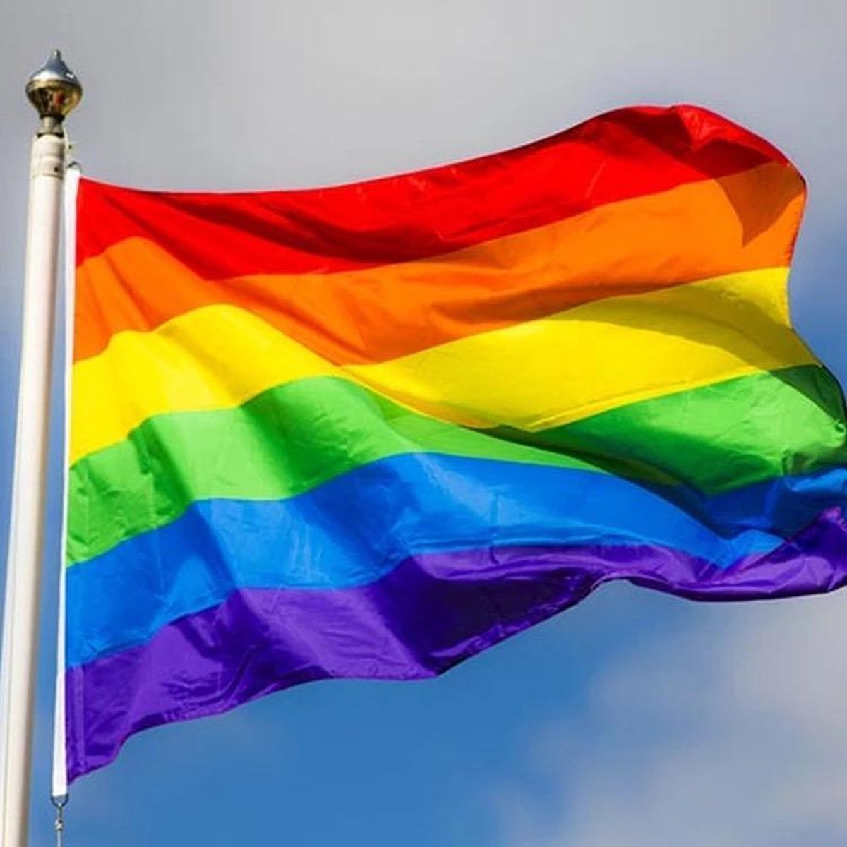 Regenboog vlag 90x150cm   -Pride vlag - LGBT vlag - Gay vlag - Gaypride - Rainbow Flag -Regenboogvlag -  LGBT Gay Pride Vlag