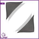 2x Grijs Driehoek Schaduwdoek 3,6 x 3,6 x 3,6 m