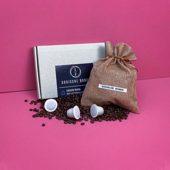Man-Box Koffie Cadeaubox NESPRESSO - verrasingsbox voor de koffieliefhebber - cadeau voor mannen