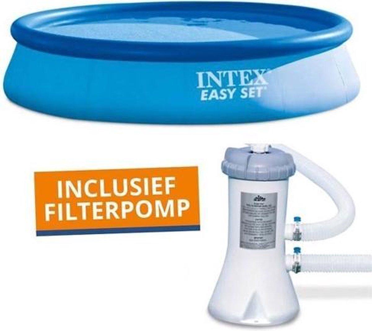 Intex 28132GS Easy Set Zwembad 366x76cm + Pomp