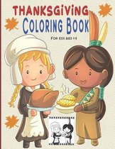 Thanksgiving Coloring Book For Kid Age 4-8
