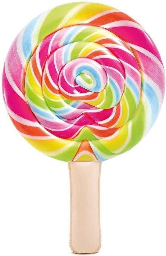 Intex luchtbed Lollipop 208 x 135 cm Water