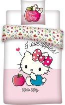 Hello Kitty dekbedovertrek 100 x 135
