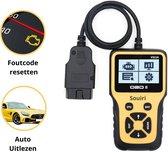 Souiri OBD2 scanner - Auto accessories - OBD2 - Uitleesapparaat - Diagnosecomputer - OBD - Diagnose auto - Nederlandstalig