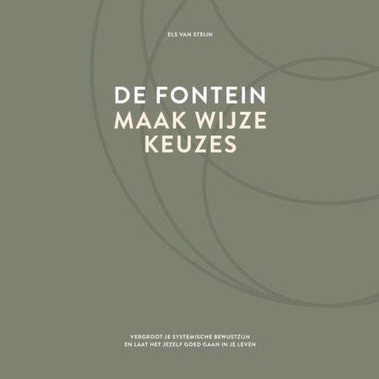 Boek cover De fontein, maak wijze keuzes van Els van Steijn (Onbekend)