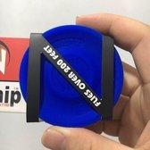 Bovadi® Zipchip Blauw Mini Frisbee 6,8 cm