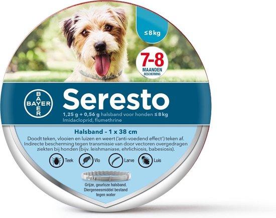 Seresto Vlooien En Tekenband - Kleine Hond - 0 Tot 8 kg