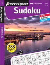 Puzzelsport - Puzzelboek - Sudoku 2-4* - 288 pagina's - Nr.1