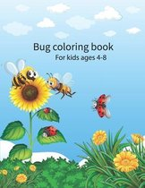 Bug coloring book for kids ages 4-8