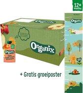 Organix Knijpfruit Maandbox - Vanaf 12 Maanden - Biologisch - 30 Stuks