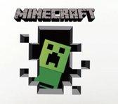 Minecraft 3D Creeper Muursticker/ Poster Kinderkamer Slaapkamer Decoratie