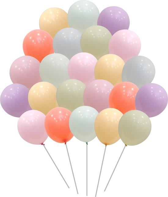 50 stuks  Premium Pastel Ballonnen Gekleurde  Mix  MagieQ   Feest|Party|Kinderfeesje|Decoratie|versiering|Kerst|