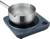 MOA IC9SA - Inductie kookplaat - Vrijstaand - 1 pits - Zwart