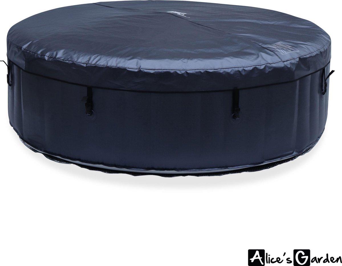 Ronde opblaasbare spa MSPA - CARLTON 6 - 205cm - pomp - verwarming - inflator - massage hydrojets
