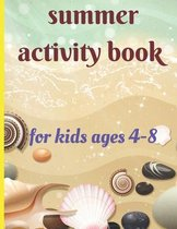 summer activity book for kids ages 4-8
