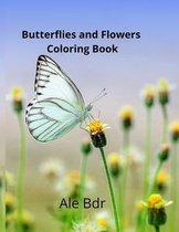 Butterflies and Flowers Coloring Book for Kids