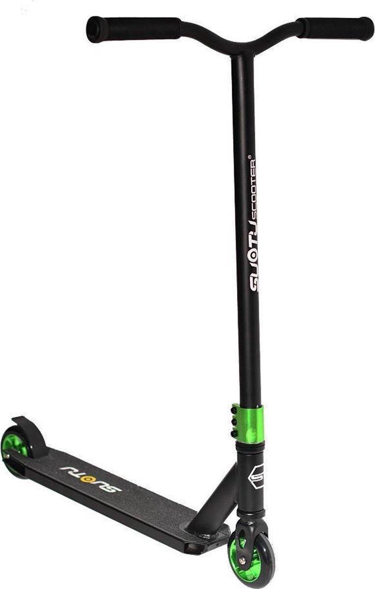 SUOTU R10 - Step - Stunt Step - 11 cm Wielen - Aluminium Velgen - Groen