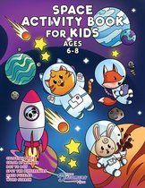 Space Activity Book for Kids Ages 6-8
