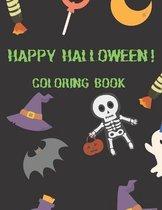 Happy Halloween! Coloring Book