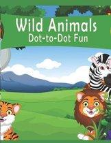 Wild Animals Dot-to-Dot Fun!