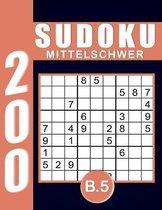 Sudoku Erwachsene Mittelschwer Band 5
