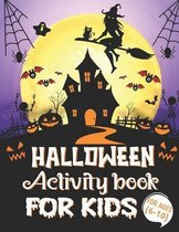 Halloween Activity Books For Kids Ages 6-10