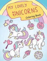 My Lovely Unicorns Coloring Book