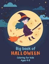 Halloween Big Book Coloring for Kids