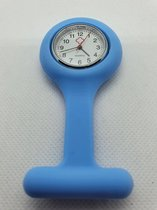 Verpleegsterhorloge/Verpleegkundige horloge/Nurse horloge - Silicone band - Roestvrij staal