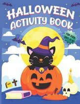 Halloween Activity Books For Kids Ages 4-8