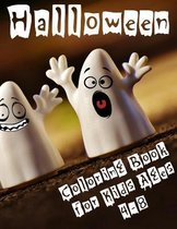 Halloween Coloring Book for Kids Ages 4-8