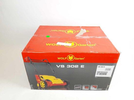 WOLF-Garten Elektrische verticuteermachine VS 302 E - werkbreedte 30 cm - 1200 W motor - verticuteren en opvangen - 35 liter opvangbak