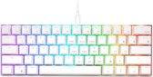 RK61 Gaming Keyboard Wit - RGB Verlichting - Ergonomisch Mechanisch Gaming Toetsenbord Met Draadloos Verbinding - Qwerty - 60% Met Multimedia Toetsen - Red Switches