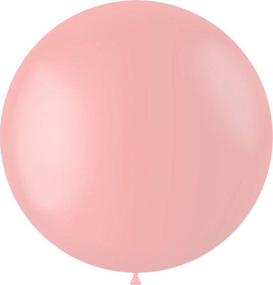Lichtroze Ballon Powder Pink 80cm