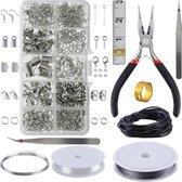 Behave Sieraden Maken Set - Sieraden Onderdelen - Kralen - Repareren - DIY - Sieraden maken volwassenen pakket