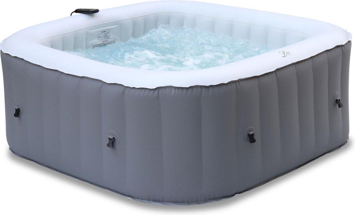 Opblaasbare spa MSPA Silver Fjord 4, 160cm, 4 personen, pomp, verwarming, inflator, filter