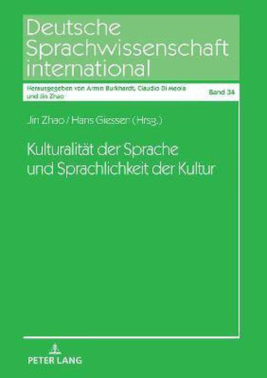 Kulturalitat Der Sprache Und Sprachlichkeit Der Kultur