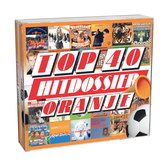 CD cover van Top 40 Hitdossier - Oranje van Top 40