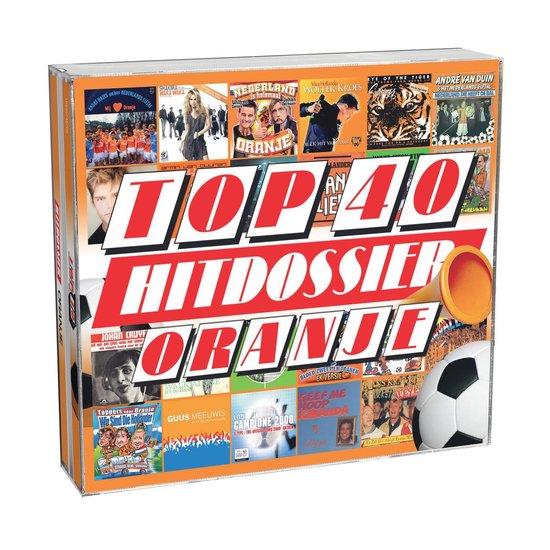 CD cover van Top 40 Hitdossier - Oranje van Top 40