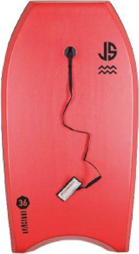 JS Bodyboard - rood - wit