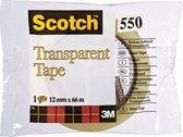 Scotch transparante tape 550 ft 12 mm x 66 m