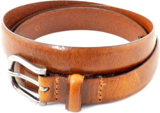 Cowboysbelt Damesriem Smalle 202001 – Cognac – 105 cm